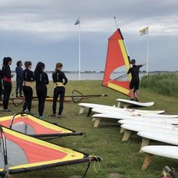 meer outdoor windsurfles Grevelingen